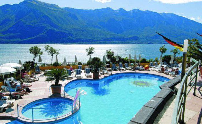 Gardasee  Sterne Hotel Am See