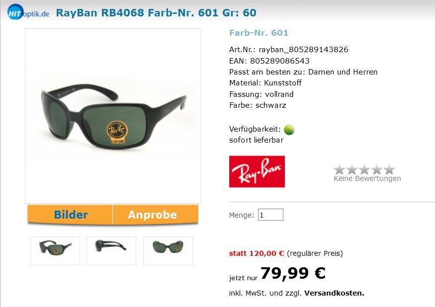 ray ban sonnenbrille türkei preis