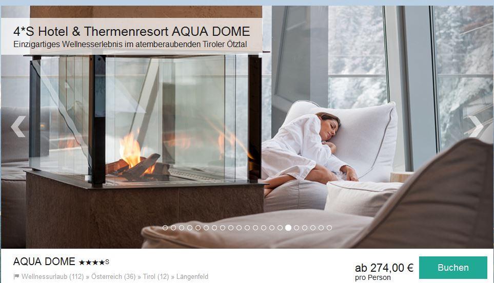 Schnäppchen für das Aqua Dome
