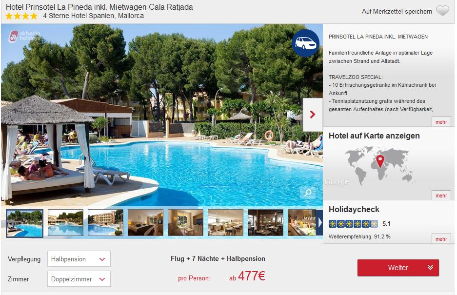 mallorca flug 4 hotel mietwagen ab 477. Black Bedroom Furniture Sets. Home Design Ideas