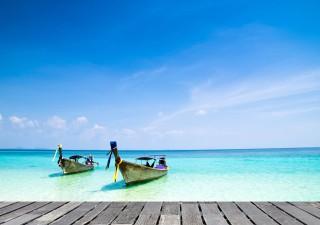 Hin- und Rückflug nach Thailand