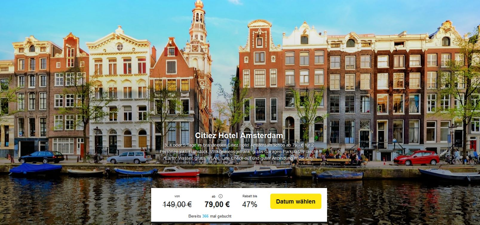 Citiez Hotel Amsterdam Check In