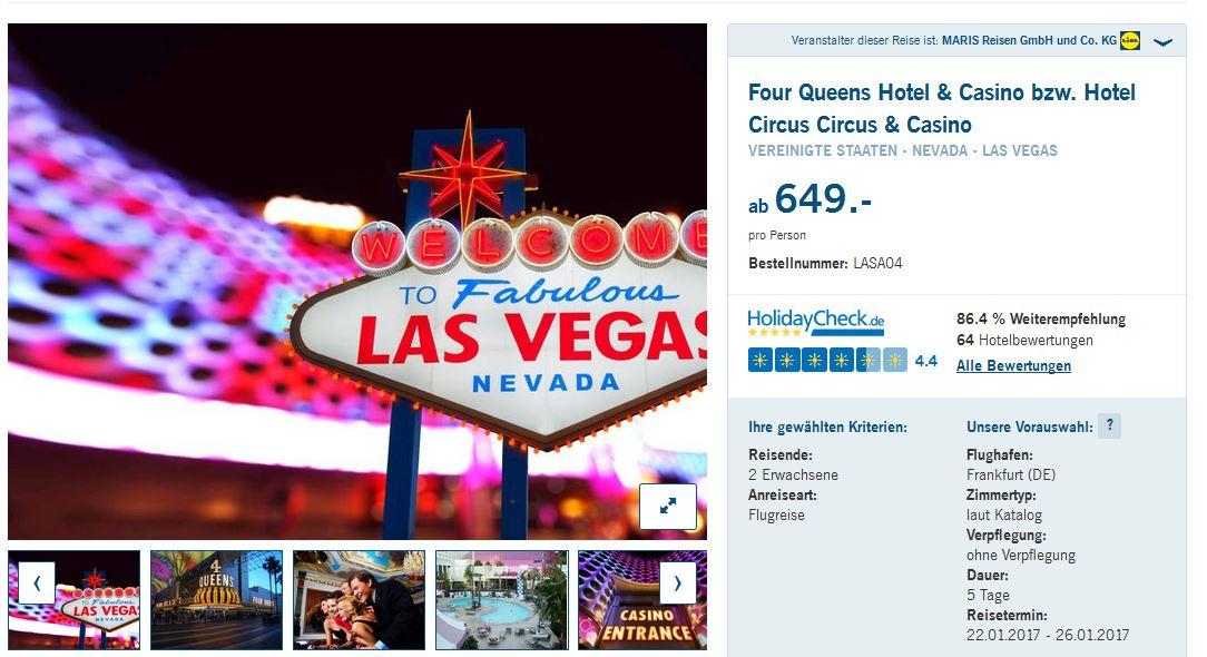 las vegas casino gutschein