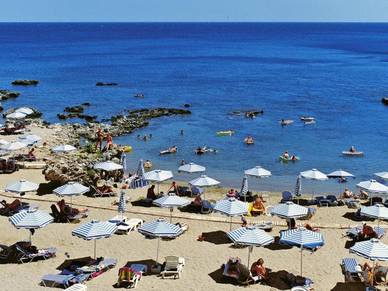 Sommerferien 1 Woche Rhodos Im Sehr Guten 4 Hotel Mit Halbpension