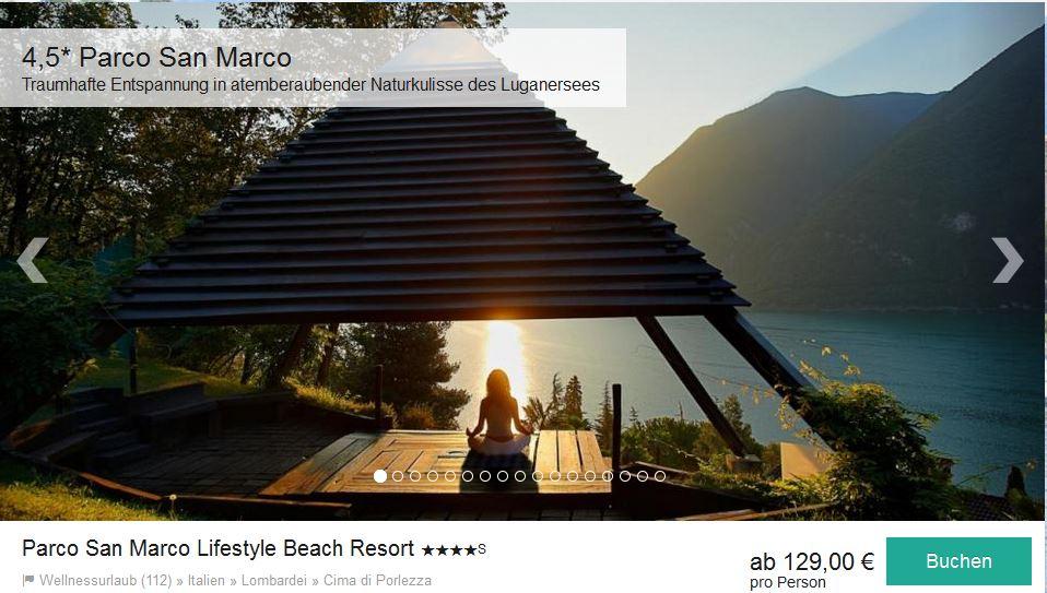 Urlaub machen und sparen im Parco San Marco Lifestyle Beach Resort