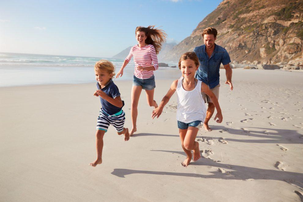 gemeinsamer Familien Urlaub