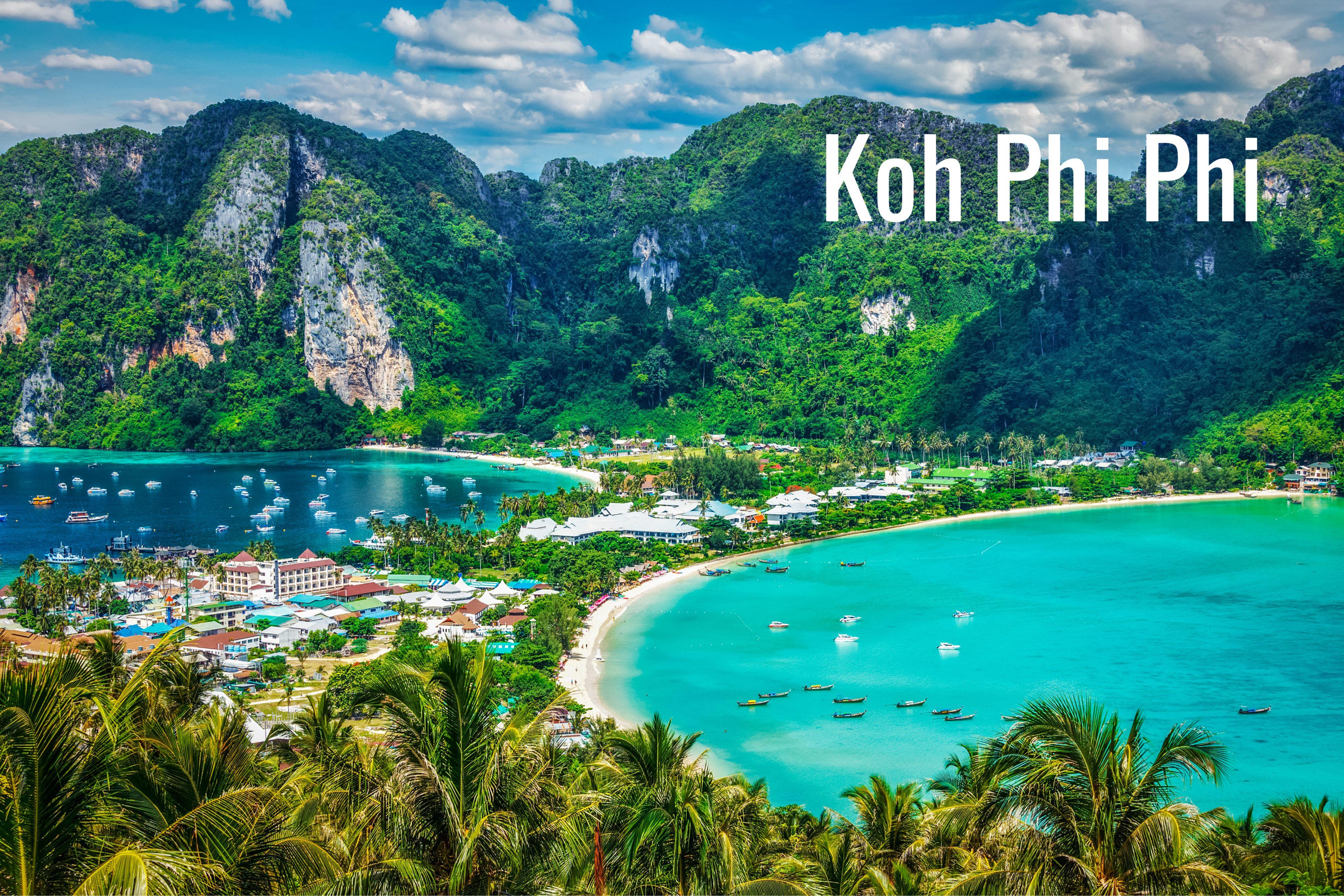 Urlaub in Thailand auf Koh Phi Phi