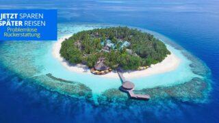 Malediven Privatstrand Reisegutschein